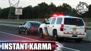Best Instant karma #2. Police karma. Instant Justice 2019. Convenient cop NEW