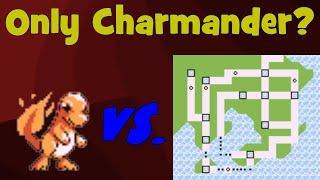 Is Charmander the best Kanto Starter? - Solo Pokemon Red/Blue Challenge [2]