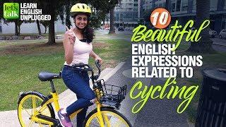 10 Beautiful English Expressions With Cycling | Increase  English Vocabulary | Learn Phrasal Verbs