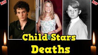 Top Child Stars Deaths || Child Actors Deaths || Died Young