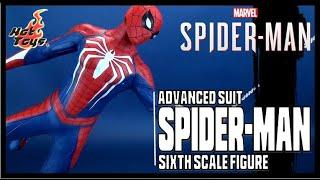 Hot Toys PS4 Spider-Man Advanced Suit Sixth Scale Figure | Video Review