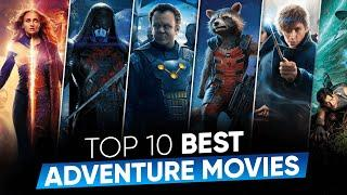 Top 10 Best Adventure Movies in Hindi Dubbed | All Time Hit Adventure Movies | Movies Bolt