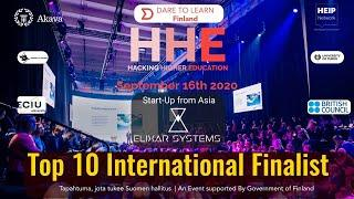 HHE 2020 | Elixar Systems| International Top 10 Finalist| Voting link in Description of Video
