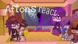 Aftons React to afton family memes/Aftons react #1