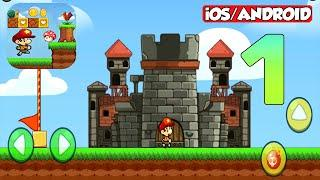 BOB'S WORLD | ALL LEVELS | ALL BOSSES | Gameplay  ( Android Gameplay | iOS Gameplay ) Part 1