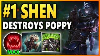 WTF? TANKS SHOULD NOT HAVE THIS MUCH HEALING AND DAMAGE! Season 10 Shen Gameplay | League of Legends