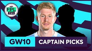 FPL GW10: TOP 3 CAPTAINCY PICKS | Gameweek 10 | Fantasy Premier League Tips 2020/21