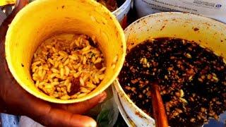 World Biggest Most Tending Popular Top Street Food Jhal Muri Bangladesh | Tasty Masala Muri Recipe