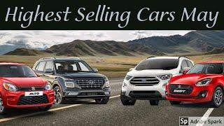 Top 10 Selling Cars Of May | Maruti No More king!! | Highest selling cars of India