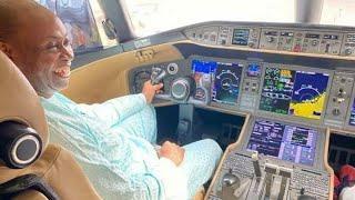 Davido's Father Buys $62m Bombardier Express Jet-