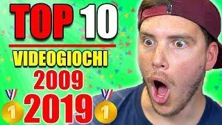 TOP 10 VIDEOGIOCHI DEL DECENNIO (2009-2019) - *SERIE MIGLIORI*