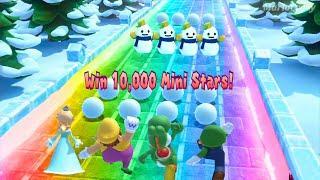 Mario Party 10 Mario Party - Yoshi Vs Rosalina Vs Wario Vs Luigi