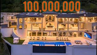 Inside a 100 million dollar mansion tour and information/The top 10 biggest house and very expensive