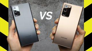 Galaxy Note 20 vs. Galaxy Note 20 Ultra Drop Test!