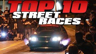 Top 10 STREET RACES from 2020 |