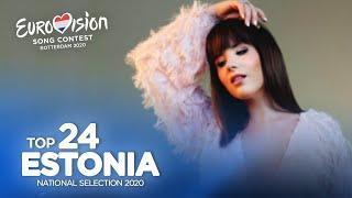 Eurovision 2020 - Eesti Laul 2020 (Estonian National Selection) - Top 24