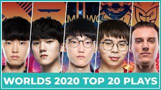 Top 20 Best Plays Worlds 2020 - Group Stage