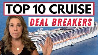 Top 10 CRUISE DEAL BREAKERS!! *Real Talk* Changes on Cruise Ships that You Might Hate