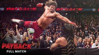 FULL MATCH - Roman Reigns vs. AJ Styles – WWE World Heavyweight Title Match: WWE Payback 2016