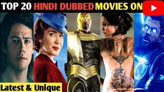Top 20 Hollywood Hindi Dubbed Movies Available On YouTube