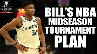 Bill's NBA Midseason Tournament Plan Plus Tim Robbins | The Bill Simmons Podcast