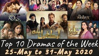 Ertugrul leads again: Top 10 Pakistani Dramas of the Week 25 to 31 May 2020 Watch Pakistani Dramas