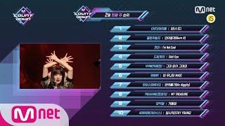 What are the TOP10 Songs in 1st week of February? #엠카운트다운   M COUNTDOWN EP.697