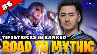 [Road to Mythic] #6 How to Dominate with Top Lane in Epic Rank ft. Leomord & Lancelot