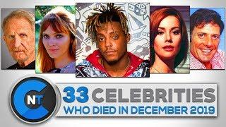 List of Celebrities Who Died In December 2019 | Latest Celebrity News 2019 (Celebrity Breaking News)