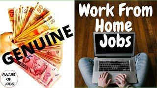 Top 10 Work From Home Jobs | Work At Home Jobs | Remote Jobs | Virtual Assistant Jobs
