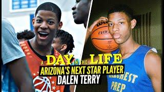 Arizona's NEXT STAR PLAYER Is The FUNNIEST Player On The Court! Dalen Terry Day In The Life!