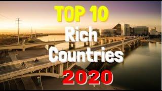 Top 10 countries to earn MONEY live in the world 2020 2021 4k RICHEST
