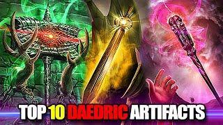 Skyrim - TOP 10 Daedric Artifacts in the Elder Scrolls Lore (CAUTION: SUBJECTIVE)