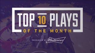 Top 10 Plays of the Month (November)
