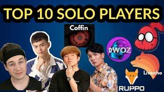 Top 10 Pubg Solo Players Of All Time|Best Solo V/S Squad Players In World|Pubg Mobile Top 10 Players