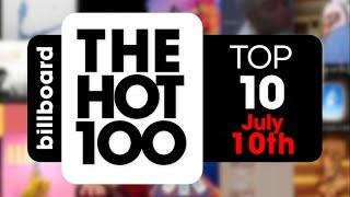 Early Release! Billboard Hot 100 Top 10 Singles  (July 10th, 2021) Countdown