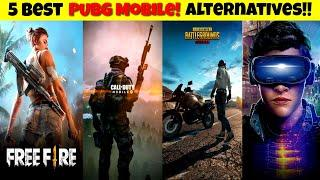 TOP 5 GAMES LIKE PUBG BEST BATTLE ROYALE GAMES LIKE PUBG