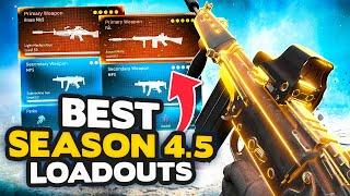 *NEW* Warzone Season 4.5 Top 10 BEST LOADOUT + Class Setups (Modern Warfare Warzone Tips)
