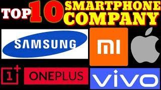 SMARTPHONE TOP 10 COMPANY, MOBILE BRANDS IN WORLD 2020, SAMSUNG, XIAOMI MI, ONEPLUS, APPLE, VIVO