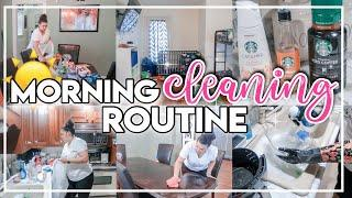 MORNING CLEANING ROUTINE 2020 | MESSY HOUSE CLEAN #WITHME | PRODUCTIVE MORNING ROUTINE