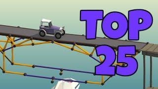 Becoming a Top 25 Tension Bridge Builder