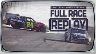 NASCAR Classic Full Race: Jeff Gordon and Jeff Burton tangle at Texas | 2010 Texas Motor Speedway