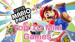 Super Mario Party - Top 10 Mini Games
