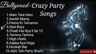 Top 10 dancing party songs | Fully crazy bollywood songs | Dancer loveable songs