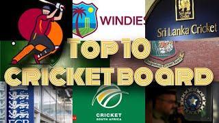 Top 10 cricket board in word | khalifa travel