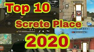 Free fire  New Hidden places 2020 || top 10  new secret  place in free fire 2020 ||Explode Gaming