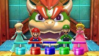 Mario Party The Top 100 MiniGames - Rosalina Vs Mario Vs Luigi Vs Peach (Master CPU)