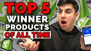 TOP 5 Winning Products Of ALL-TIME ($35 MILLION In Sales) | Shopify Dropshipping 2020