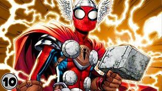 Top 10 Most Powerful Alternate Versions Of Spider-Man