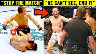 10 Times UFC Fighters REFUSED To Hit Their Opponent!